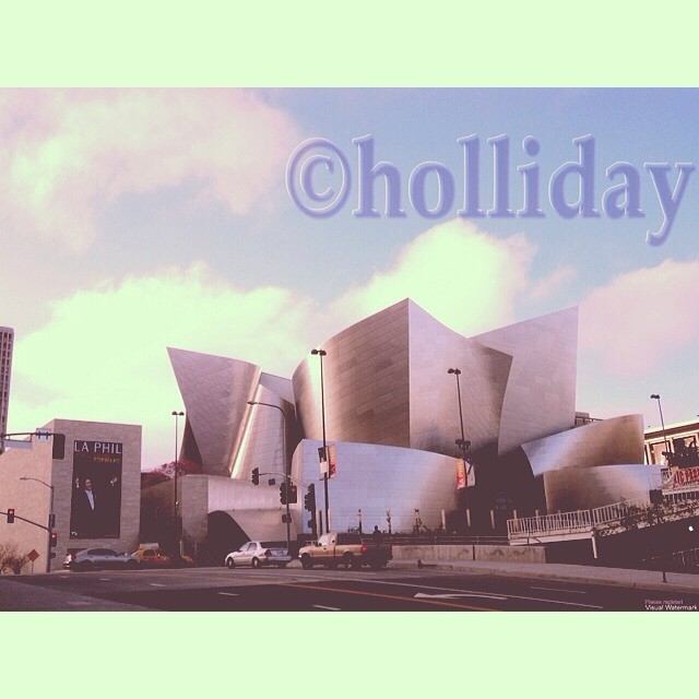 Walt Disney Concert Hall designed by Frank Gehry, Los Angeles, California. Photo by Rachael Holliday.