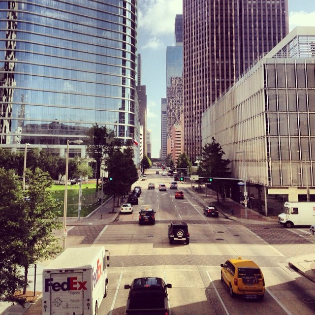 Downtown Houston, Texas. Photo by Shannen Garza.