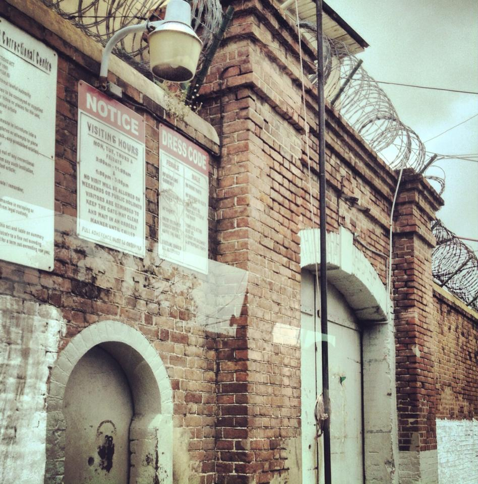 Photo shared during  #passionpassport  chat today! Prison outside of Kingston, Jamaica. Photo by Shannen Garza.