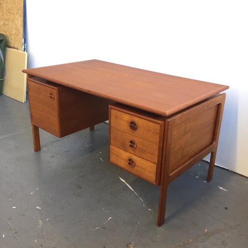 vintage danish modern desk by gv gasvig far out finds vintage
