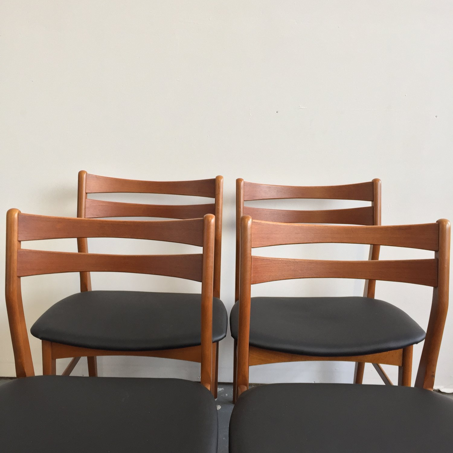 Set of 4 Vintage Danish Modern Faldsled Dining Chairs — Far Out