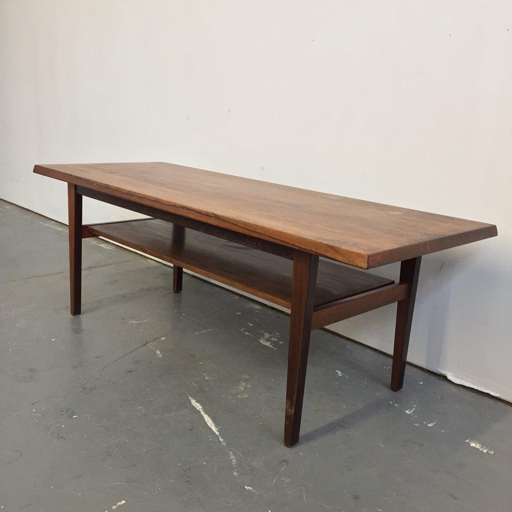 PRE SALE   Vintage Danish Modern Rosewood Coffee Table
