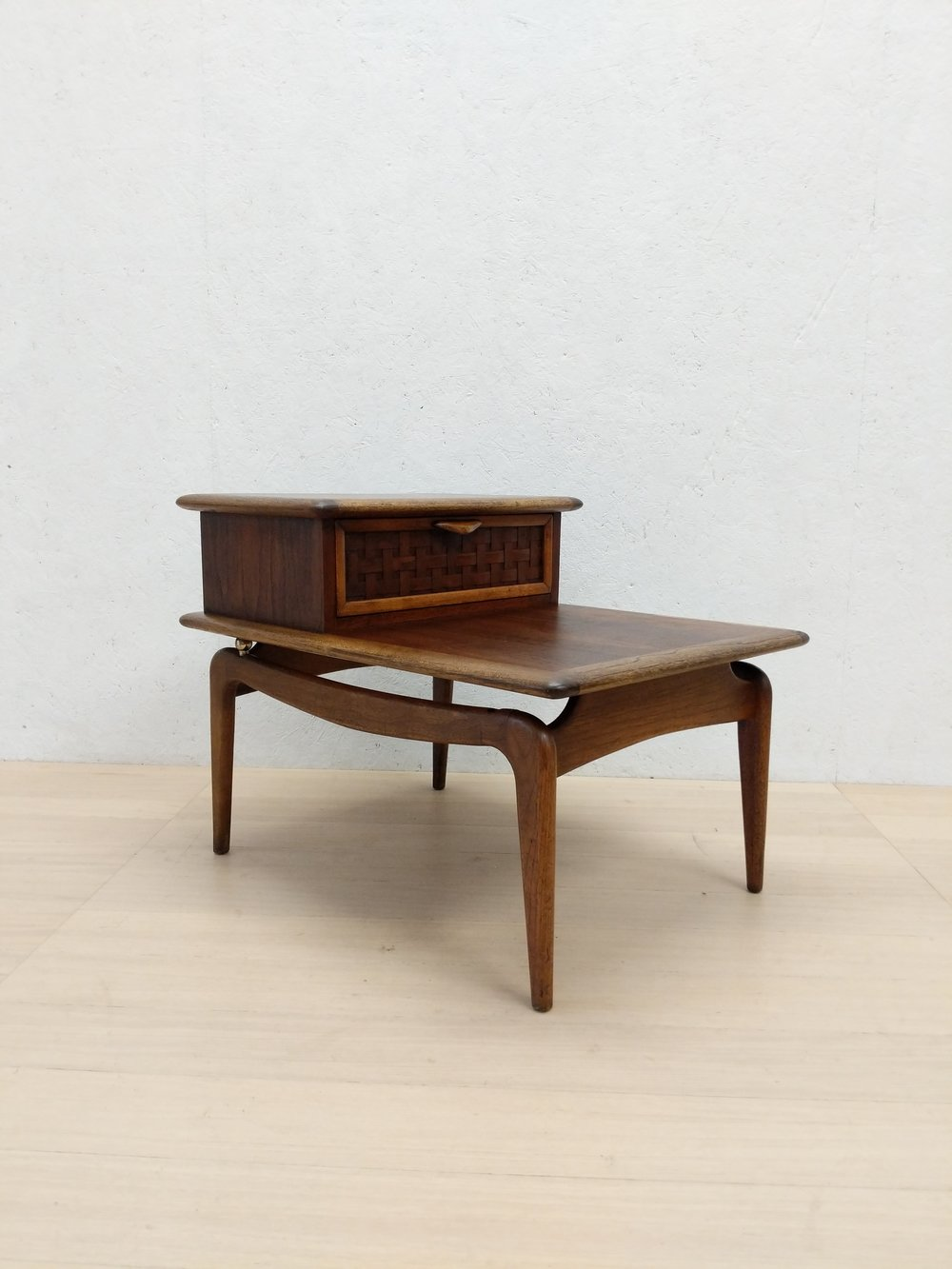 Vintage Mid Century Modern Lane Side Table Nightstand Far Out Finds Vintage Scandinavian Furnishings