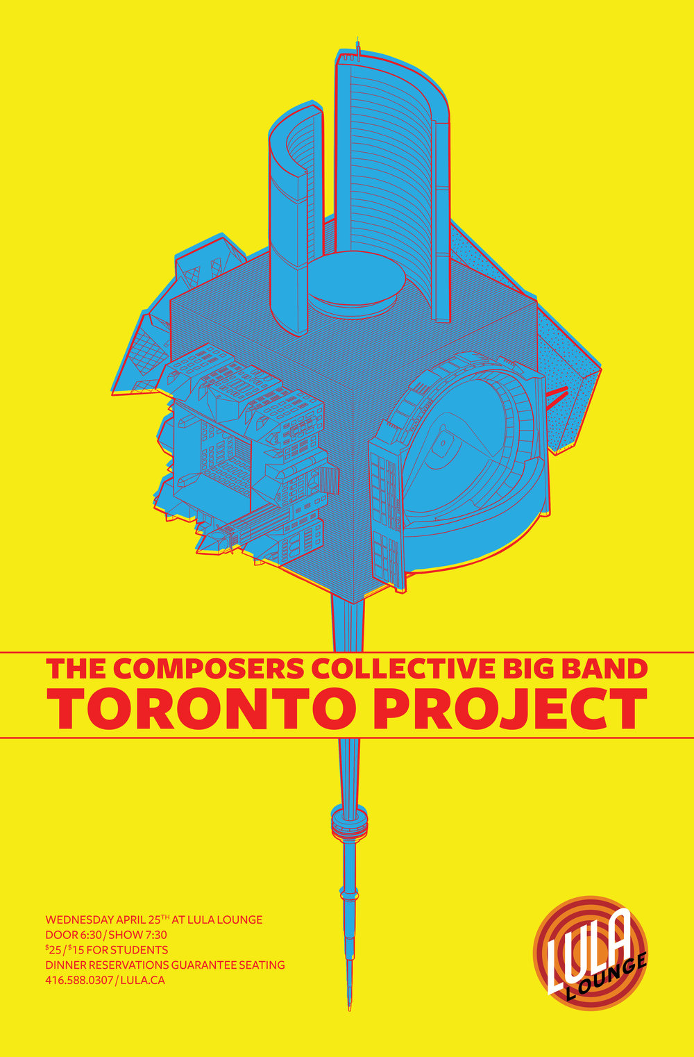 Come check out our biggest project yet! - April 25th 7:30PM at Lula Lounge in Toronto.