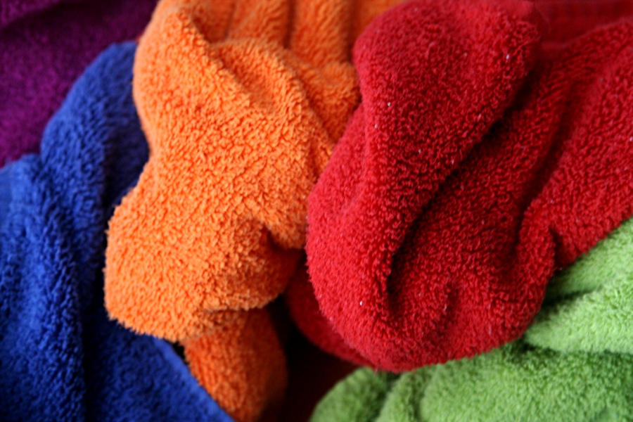 Warm towels.