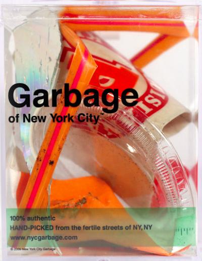 Garbage Art by Justin Gignac
