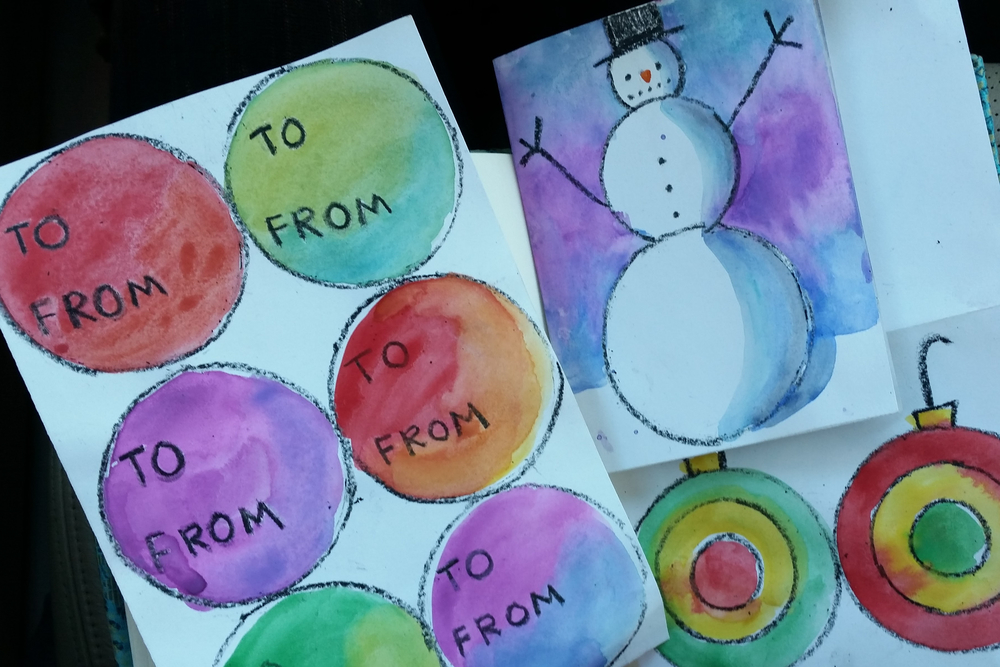 I'm creating a piece of art for every day of Advent. I'm randomly selecting one of my Come Thou Long Expectedword prompts each day as inspiration for my art. You are welcome to join me.