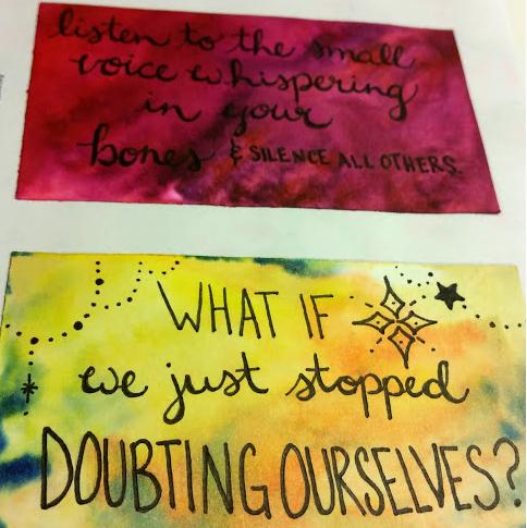 Secret Messages by Member Erin Plaster