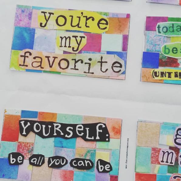Secret Messages by Member Lisa Lowe