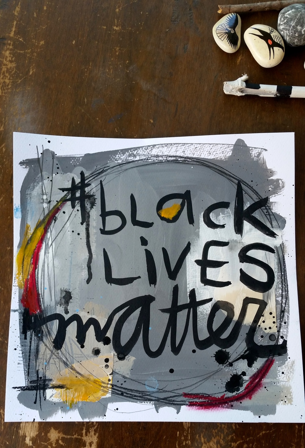 Colour palette from Basquiat's Brown Spots.