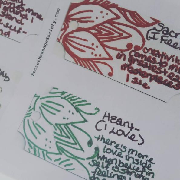 Secret Messages by Member Renee Furlow.