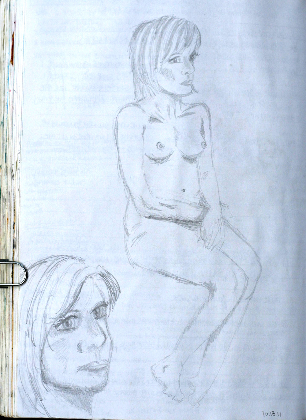 Figure drawing.