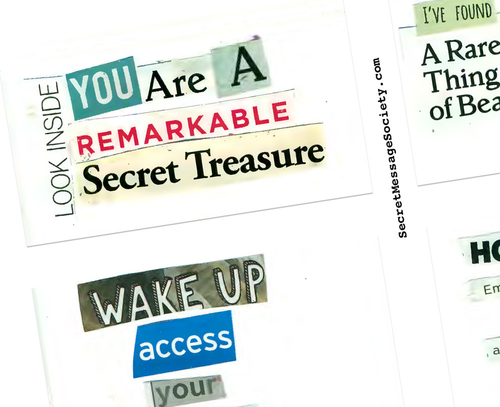 Secret Messages by Member Cassie.
