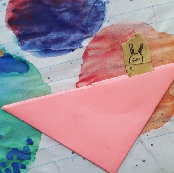 Magic Rabbit Art by Kelsey