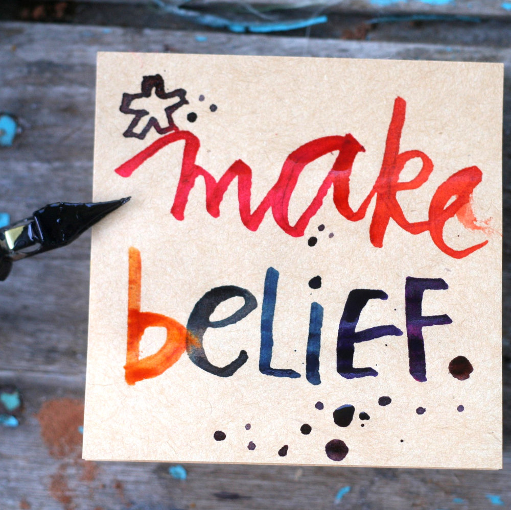 Starting June 4! The 7-day eCourse to make believe whatever you wanna.