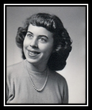 Maureen's graduation photo 1952