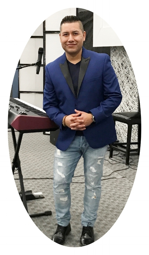 Efren Alejo       Youth/Worship Pastor -