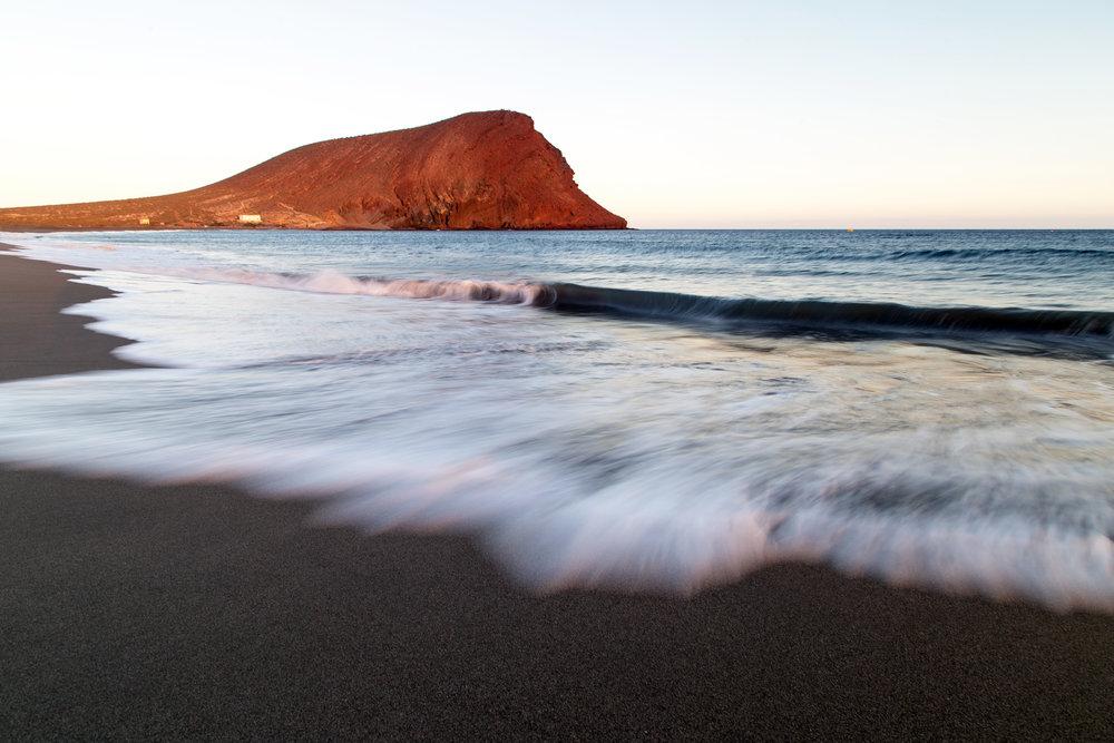 Playa de La Tejita, Tenerife, Canárias