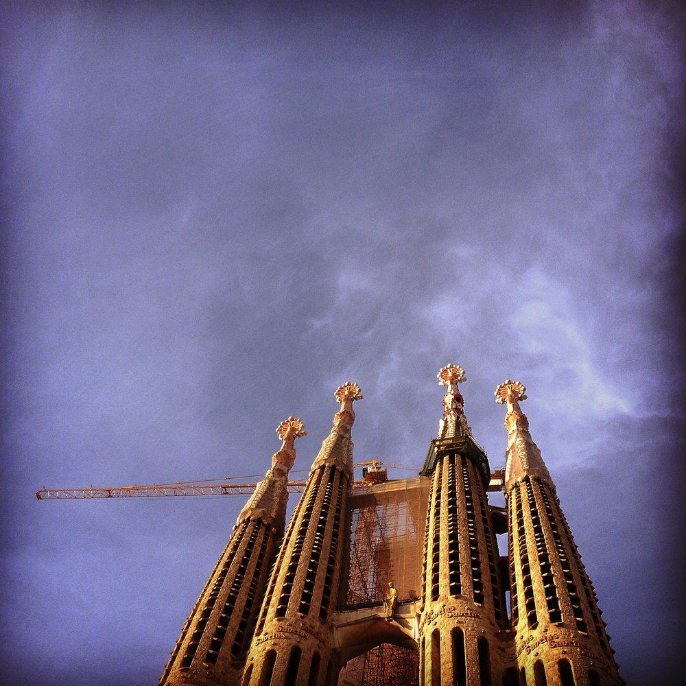Sagrada Familia, Barcelona, Espanha