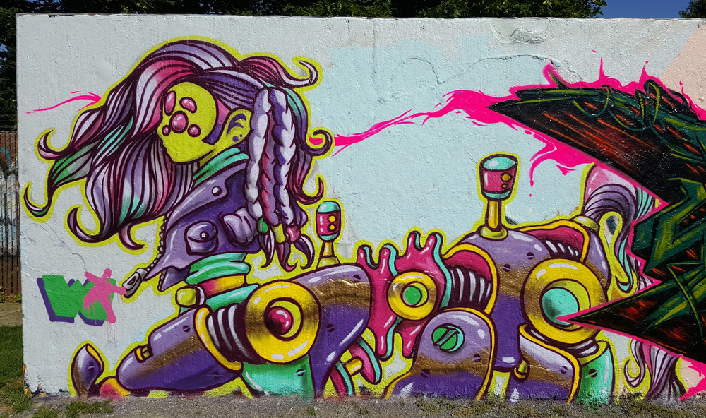 sagittarius_PONY - mural piece