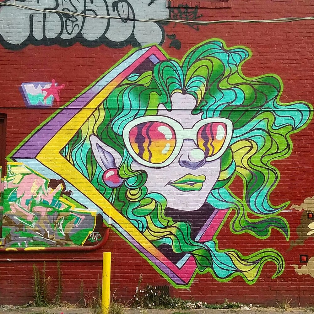 summer_GIRL 18'x18'- Georgetown, WA - Dead Baby Downhill street festival