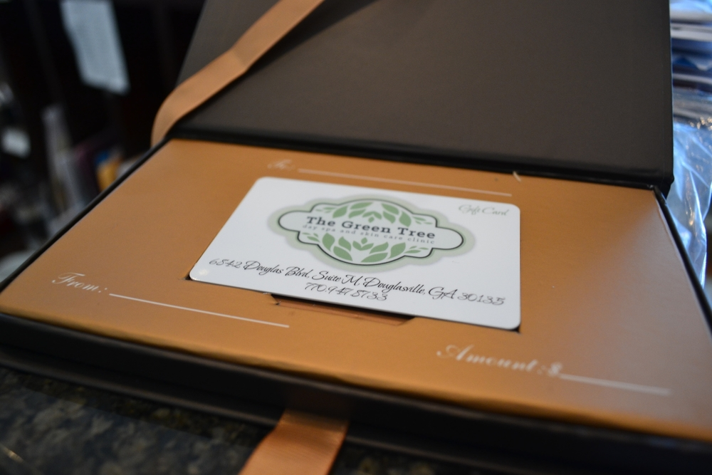 Green Tree Spa Gift Certificates