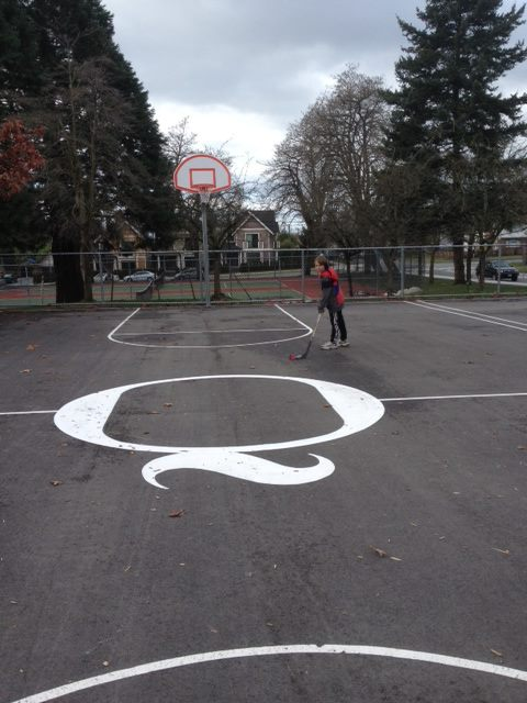 Quinn's Court at Ridgeway Elementary, North Vancouver