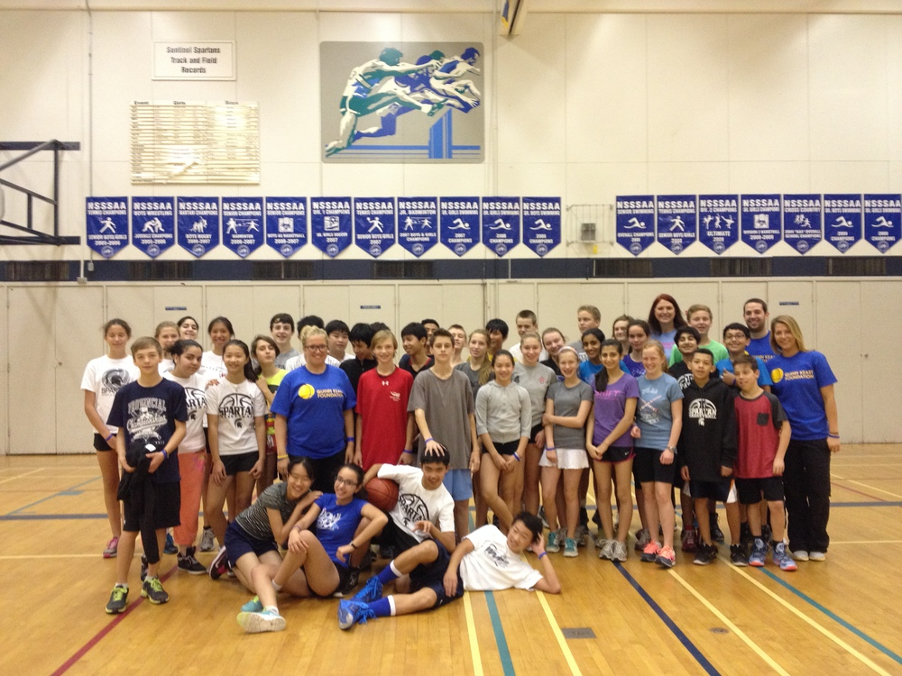 Sentinel Basketball Clinic, West Van