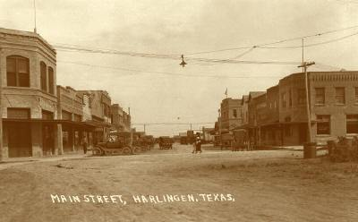Harlingen in 1918. Photograph: www.texassoldphotos.com