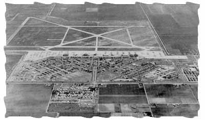 Air Force Base. Date unknown. Photograph: City of Harlingen. The base closed in 1962.