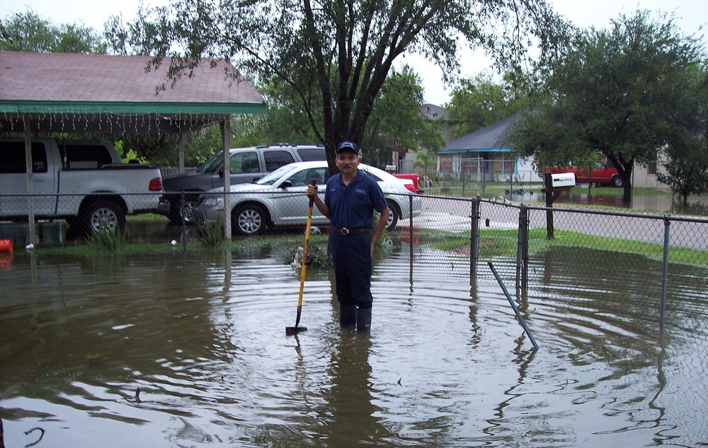 LRGV Colonia - example of flooding