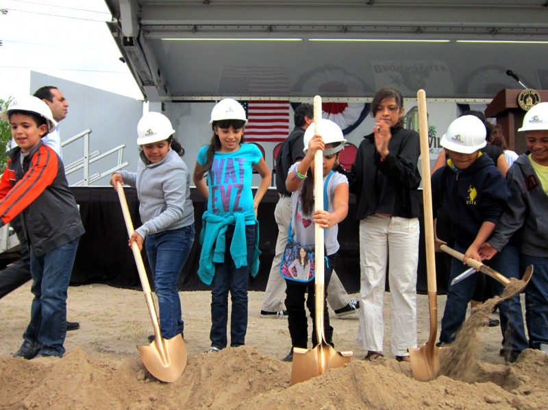 Belden Trail Groundbreaking Ceremony