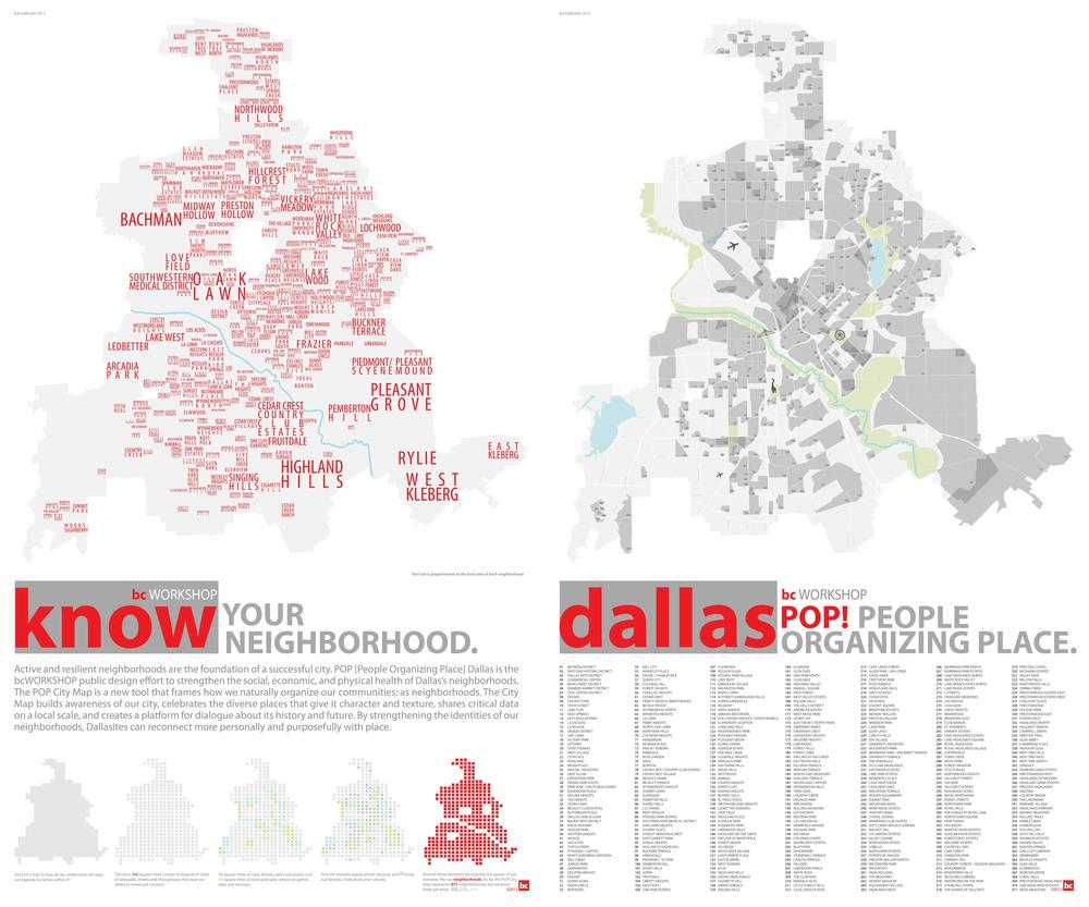 The neighborhoods of Dallas