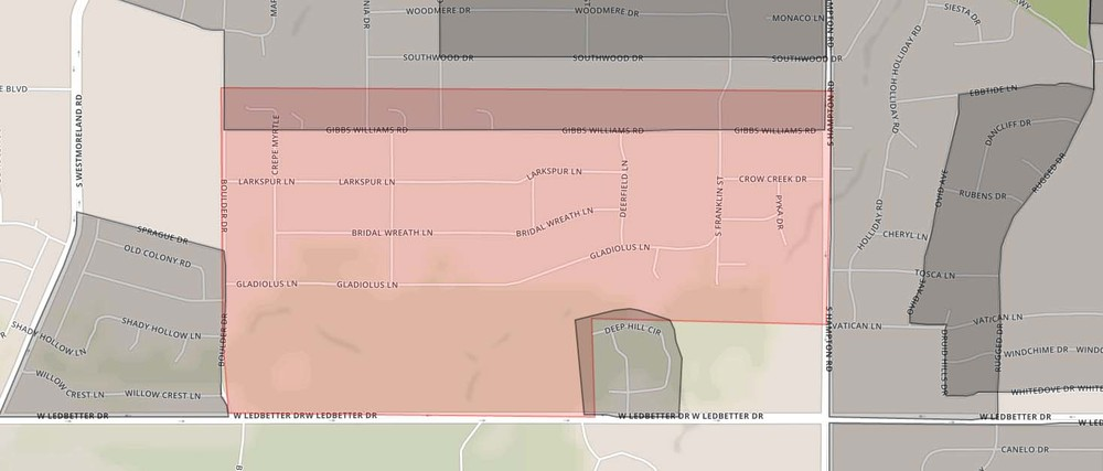 Brettonwoods neighborhood boundaries