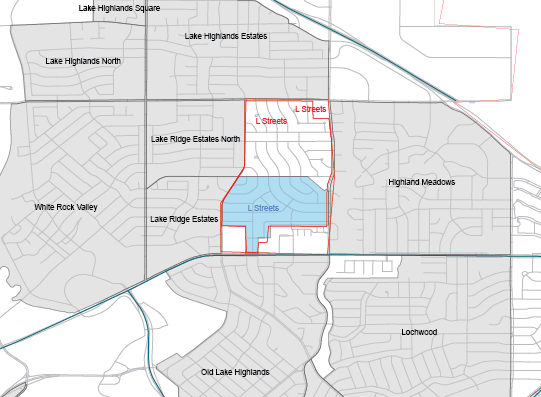 Boundaries for L Streets as drawn on the POP Neighborhood Map and as submitted online