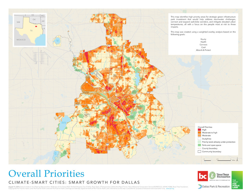 Park Cities Dallas Map.Smart Growth For Dallas Phase Ii Bc