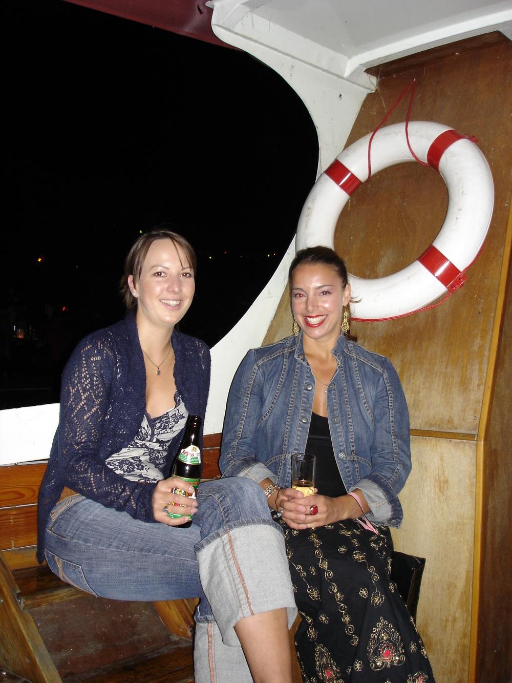 Nicole and Winnie on Boat.jpg