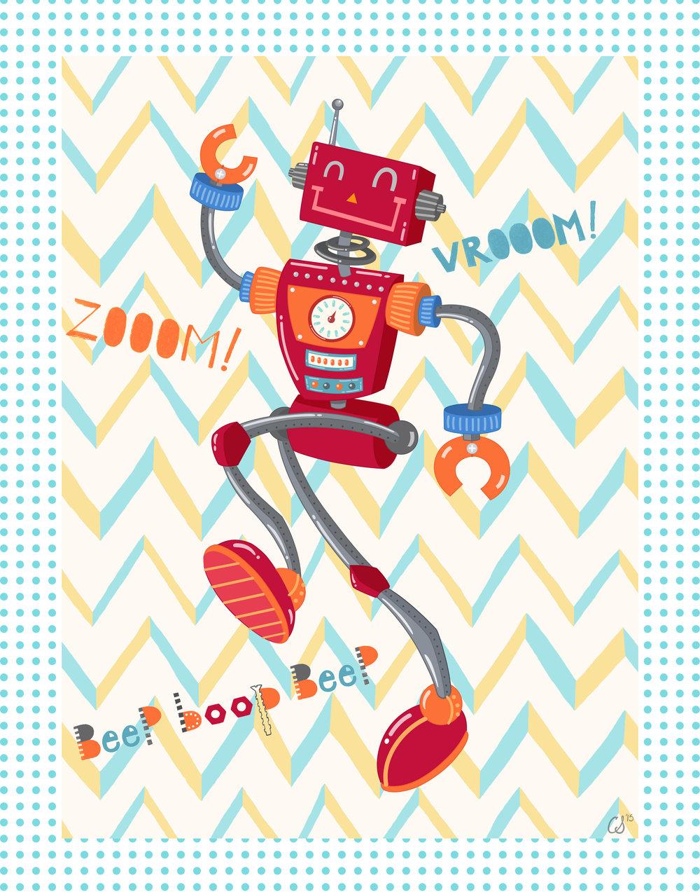 Zoom Robot