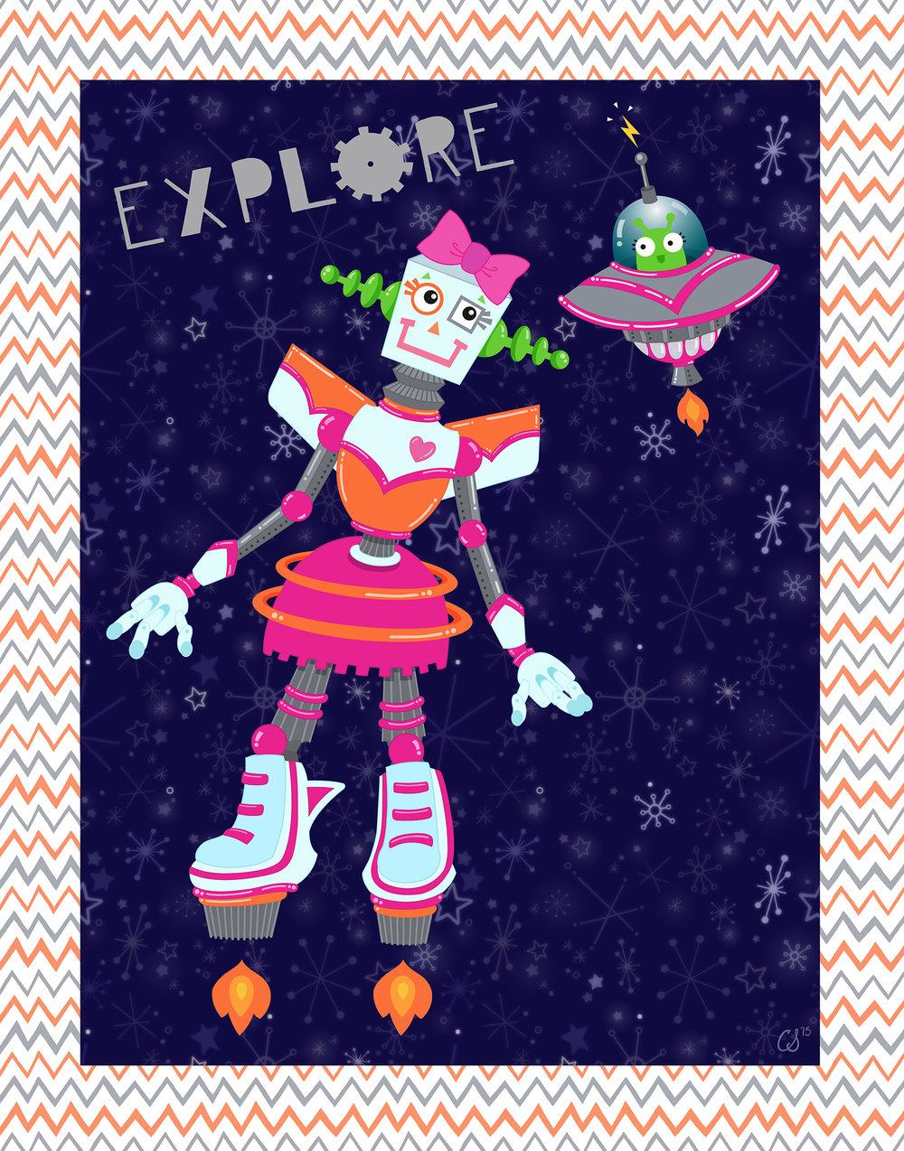 Explore Robot