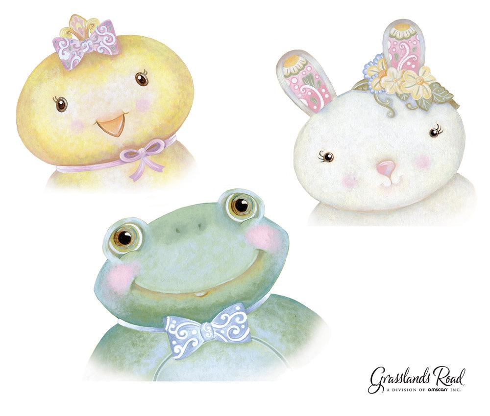 Sweet Tales Animal Portraits