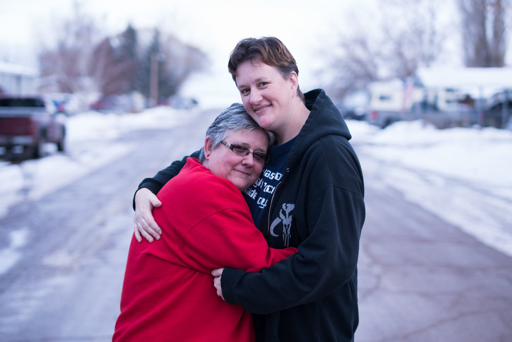 Lauralie and Marylu are a Mormon gay couple in Roosevelt, Utah