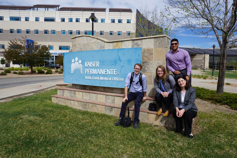 We spent 4 weeks in Colorado to identify regional-specific needs. This clinic in Colorado is attached to a contracted hospital, an interesting contrast to owned hospitals.
