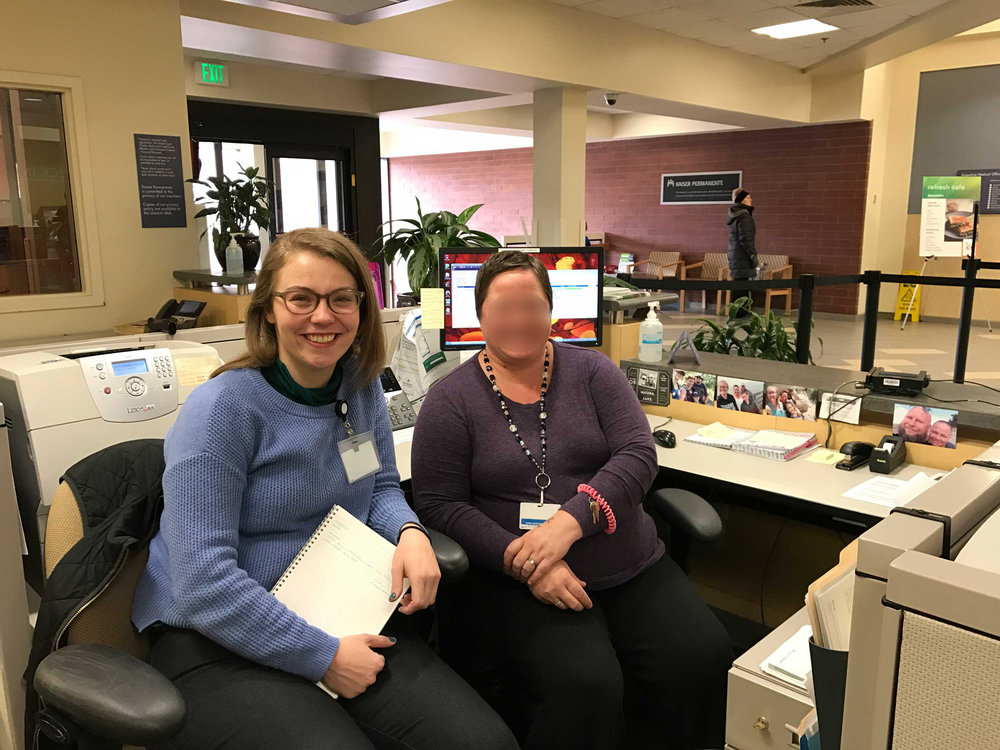 Designing check-in conversations with registration staff