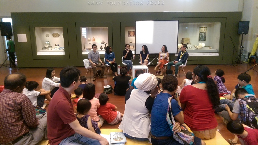 Part of the panel at Singapore Writers' Festival 2015, held at Asian Civilisations Museum.