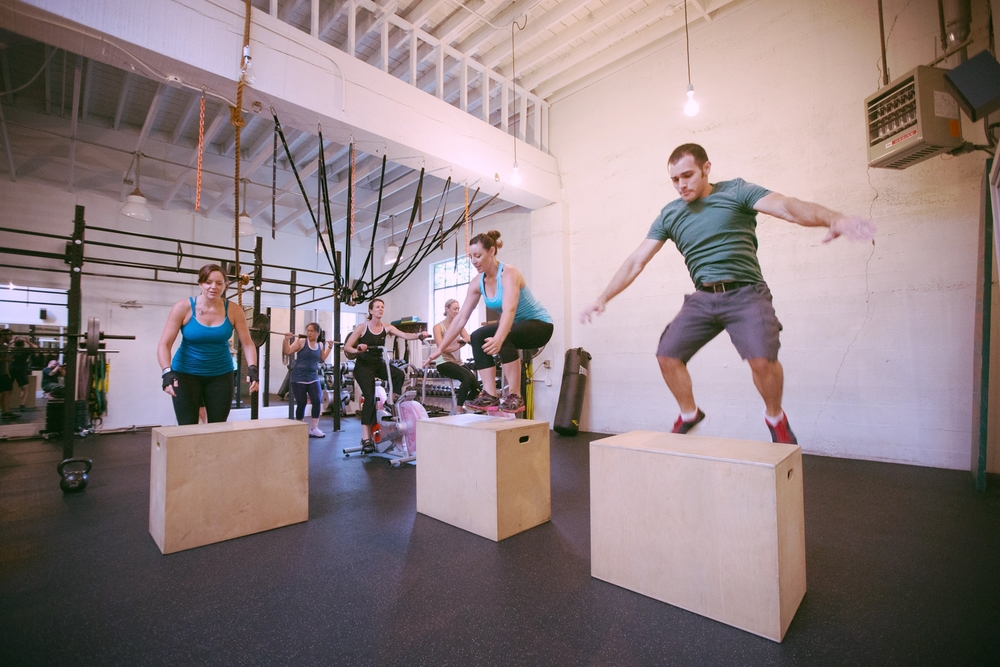 Group > Intense, seriously sweaty workouts. Be ready to work hard and love it.