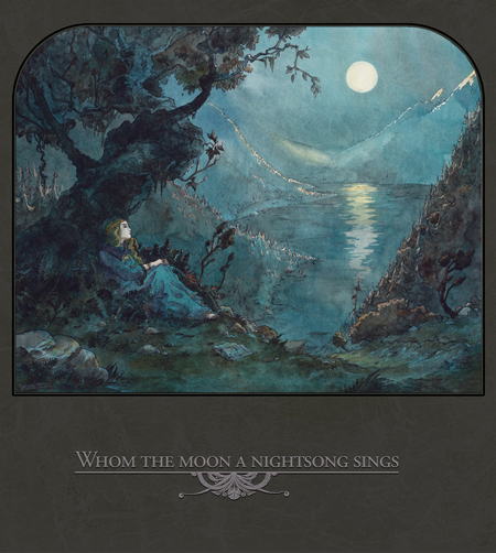 WHOM THE MOON A NIGHTSONG SINGS - V.A. compilation