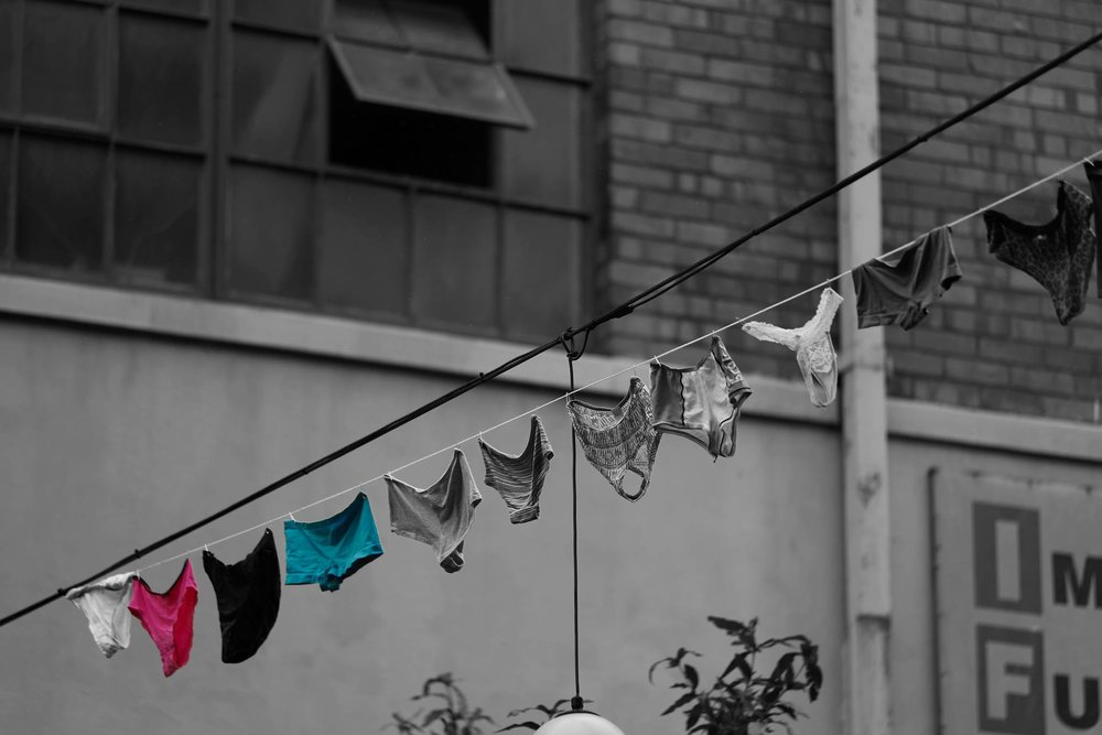 SA's Dirty Laundry is a visual arts campaign launched to bring awareness to the staggering rape statistics in South Africa.