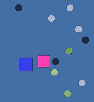 The Marriage. Guess what the blue and pink squares represent. Go on, dare you.