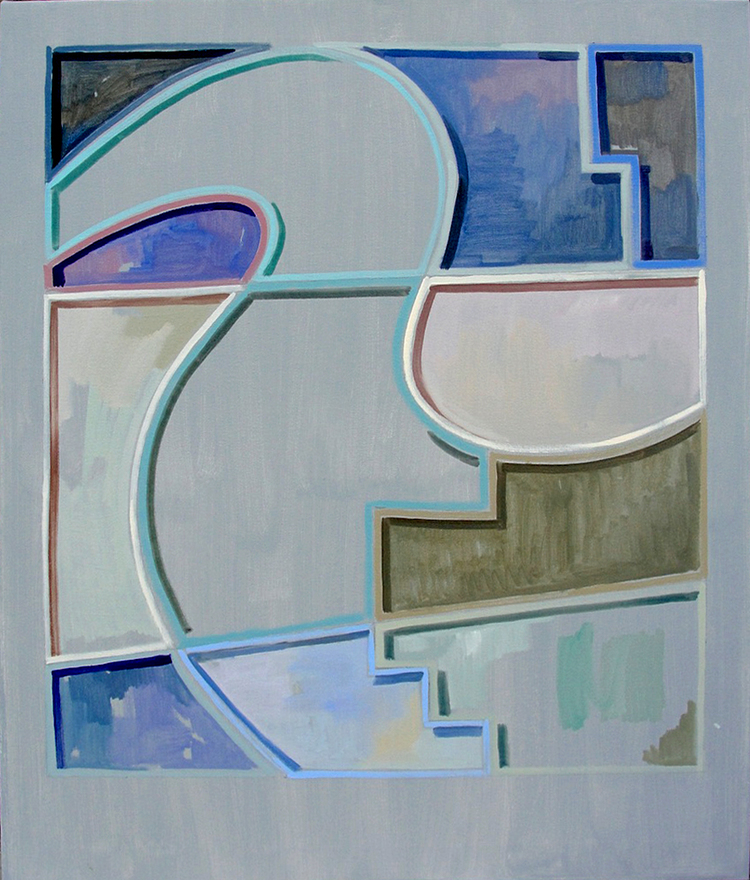 Recreational Modernism, 2012, 116,5 x 96,5 cm. Oil on Canvas.