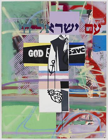 Fight For Your Right, 2011, 127 x 96,5 cm. Mixed media on paper.